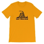 "DON""T TREAD ON MY SHORT SLEEVE SHIRT"