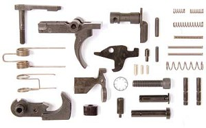 LBE AR-15 Lower Parts Kit Without Grip/Guard