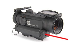 HOLOSUN 2 MOA RED DOT WITH LASER