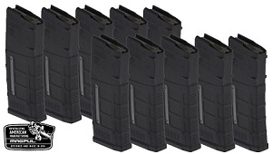 MAGPUL GEN 3 5.56 WINDOWED 10 PACK BLACK